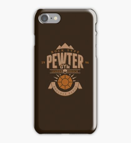 Pewter Gym iPhone Case/Skin