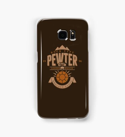 Pewter Gym Samsung Galaxy Case/Skin