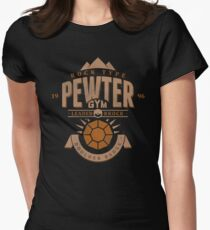Pewter Gym Women's Fitted T-Shirt