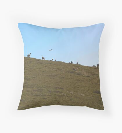 Tule Elk Throw Pillow