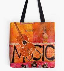 MUSIC Makes Me Wanna Dance Tote Bag