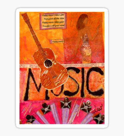 MUSIC Makes Me Wanna Dance Sticker