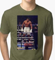Anthony Joshua Stands Victorious Tri-blend T-Shirt