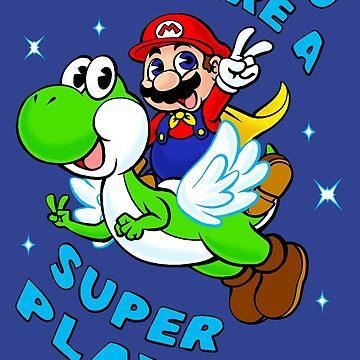You Are A Super Player! by BigOrangeStar