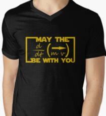 May the Equation be with you Men's V-Neck T-Shirt