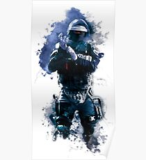 Rainbow Six Siege Doc Watercolor Painting Poster