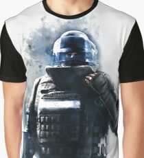 Rainbow Six Siege Rook Watercolor Painting Graphic T-Shirt