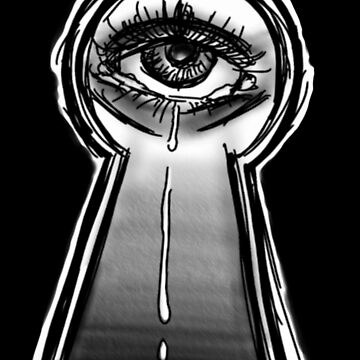 Hidden tears by Bloodywings