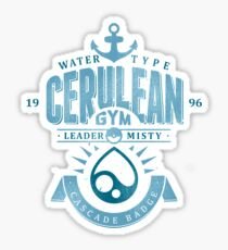 Cerulean Gym Sticker