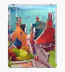Sea houses. Gardenstown. iPad Case/Skin