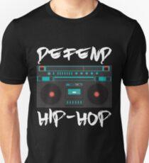 defend hip-hop rap boombox design T-Shirt