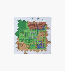 Hyrule Map: Zelda Link to the Past Art Board