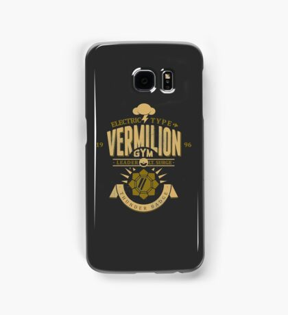 Vermilion Gym Samsung Galaxy Case/Skin