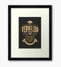 Vermilion Gym Framed Print