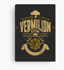 Vermilion Gym Canvas Print