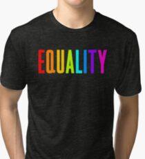 EQUALITY RAINBOW GAY  Tri-blend T-Shirt