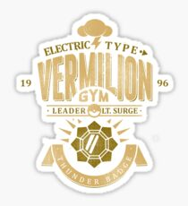 Vermilion Gym Sticker