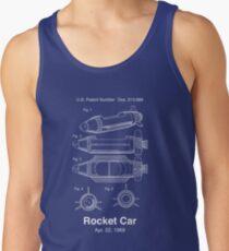 Rocket Jets Raketenauto Patent Tank Top