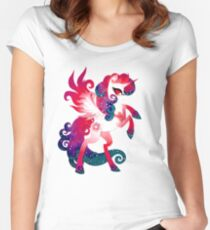 magical unicorn Women's Fitted Scoop T-Shirt