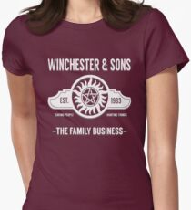Winchester And Sons - Hell Version Womens Fitted T-Shirt