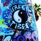 Free Tibet by Ashleigh Robb