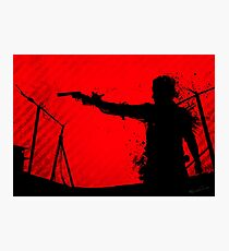 The Walking Dead - Rick Photographic Print