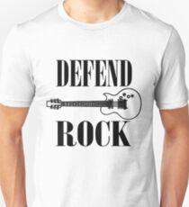 defend rock guitar design T-Shirt