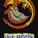 The Circular Tornado Tusk Wyvern by drakenwrath