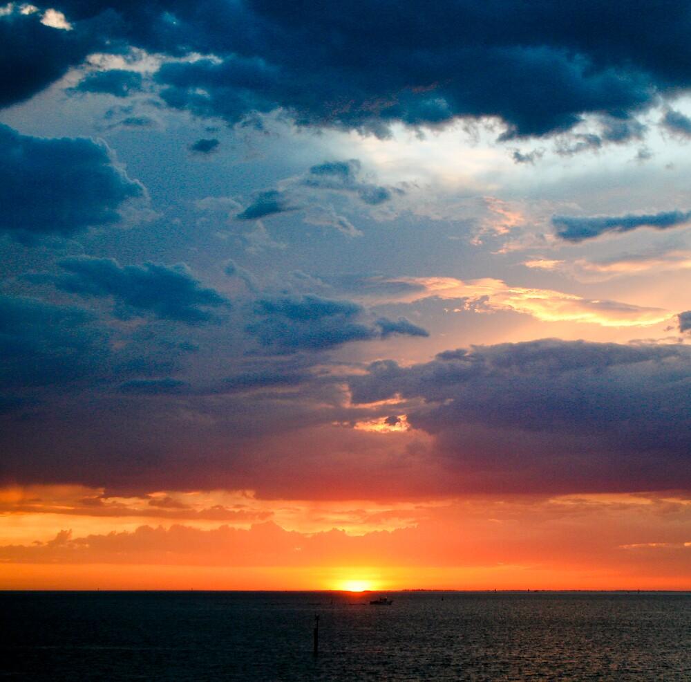 sunset by Danielle Allison