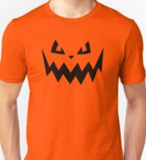 """Harkness"" Jack O'Lantern - Halloween- Pumpkin, Orange, Black, All Hallows Eve, Simple, Contemporary Unisex T-Shirt"