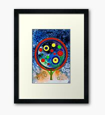 The round tree Framed Print