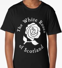 The white roses of Scotland  Long T-Shirt