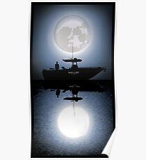Dexter - Skull Moonshine Poster