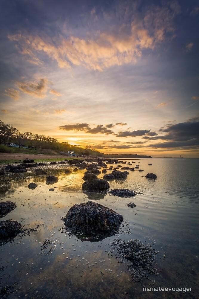 Sunset At The Rockery by manateevoyager