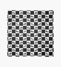 Fluevog BW Checker Pattern Scarf