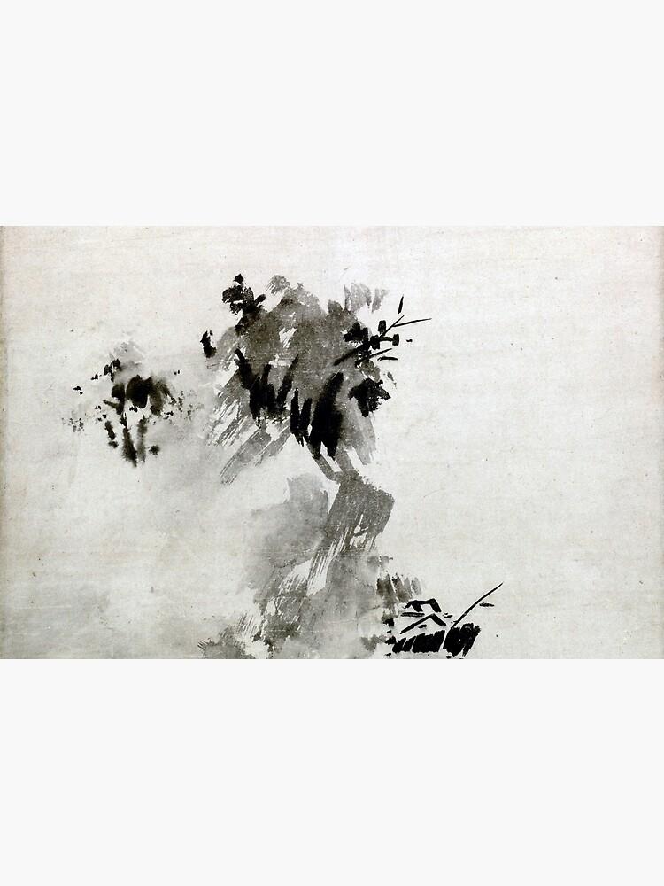 Paisaje de Sesshu Toyo Haboku-Sansui de pdgraphics