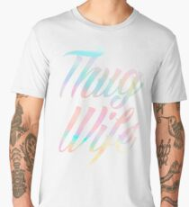 Thug Wife Life Men's Premium T-Shirt