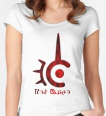 FFXIV Red Mage! Women's Fitted Scoop T-Shirt