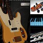 Musical Instruments Collage von Kathryn Jones