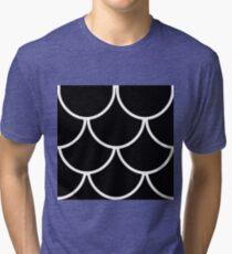 Siren Outfit Black Tri-blend T-Shirt