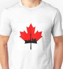 Toronto Skyline Maple Leaf T-Shirt