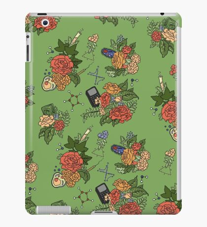 STEM floral pattern iPad Case/Skin