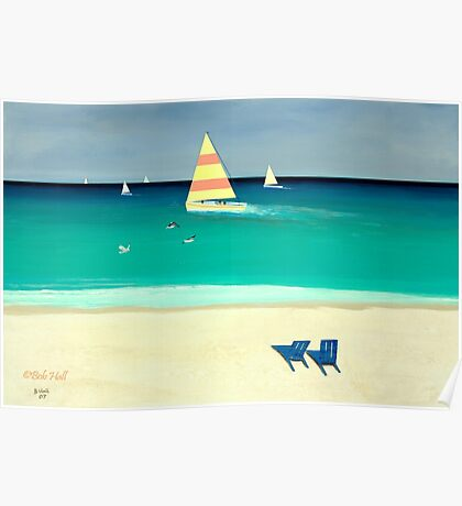 """""""Coastal Calm""""... prints and products Poster"""