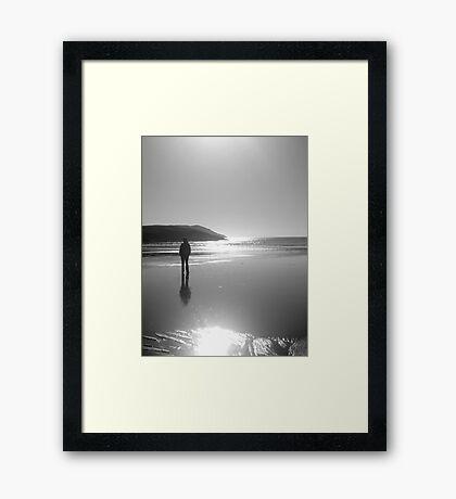 The Bay Framed Print