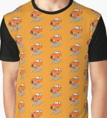Austin A35 - Tango Text - Orange Modified Custom Beast (Orange Background) Graphic T-Shirt