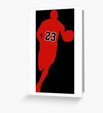 23 the Legend Greeting Card