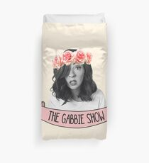 The Gabbie Show flower crown  Duvet Cover