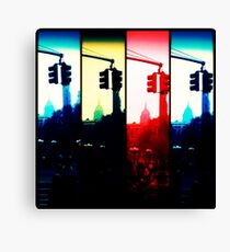 stop & go near the esb Canvas Print