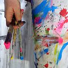 painting pants by Loui  Jover