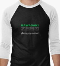 Z650, go naked Men's Baseball ¾ T-Shirt